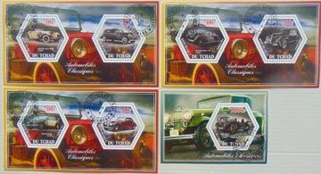 Автомобили zabytk. Tchad комплект из 4 блоков #16189a-d доставка товаров из Польши и Allegro на русском