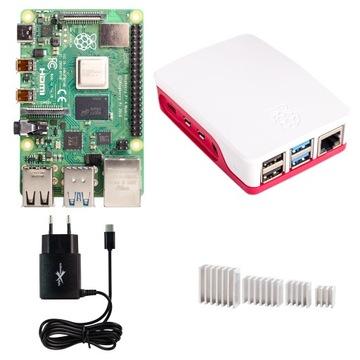 Raspberry Pi 4B 4 гб ОПЕРАТИВНОЙ памяти корпус блок питания, радиаторы доставка товаров из Польши и Allegro на русском