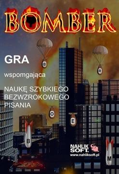 BOMBER 3 - ОБУЧАЮЩАЯ ИГРА. ИЗУЧЕНИЕ БЫСТРОГО НАБОРА ТЕКСТА доставка товаров из Польши и Allegro на русском