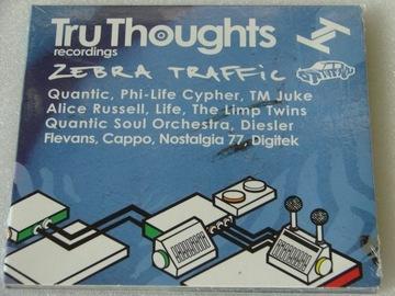 Tru Thoughts / Zebra Traffic Sampler CD UK NOWA доставка товаров из Польши и Allegro на русском