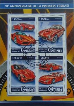 АВТОМОБИЛИ FERRARI автомобильные Гвинея листов. #16217 доставка товаров из Польши и Allegro на русском