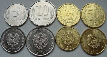 Приднестровье 2019 - набор курсовых монет(4 шт) доставка товаров из Польши и Allegro на русском