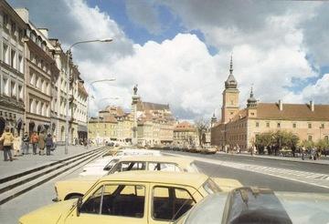 ВАРШАВЫ - КРАКОВСКОЕ ПРЕДМЕСТЬЕ - FIAT 126P 125P доставка товаров из Польши и Allegro на русском