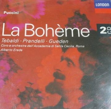 ПУЧЧИНИ Le Boheme (2CD) Tebaldi, Пранделли, Gueden доставка товаров из Польши и Allegro на русском
