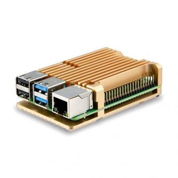 Набор Raspberry Pi 4 4GB большие пассивное охлаждение доставка товаров из Польши и Allegro на русском