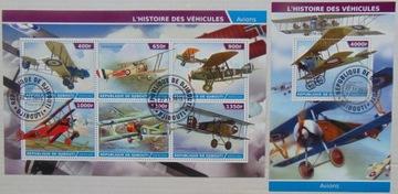 Самолеты dwupłaty Djibouti arkusik+блок #1492a-b доставка товаров из Польши и Allegro на русском