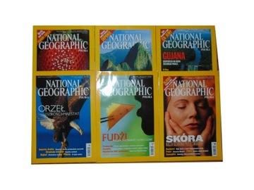 NATIONAL GEOGRAPHIC набор 6 телефонных номеров, с 2002 г доставка товаров из Польши и Allegro на русском