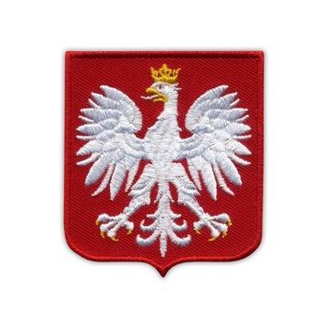 Полоса Эмблема Польский ГЕРБ ПОЛЬШИ ПОЛЬША, средний узор доставка товаров из Польши и Allegro на русском