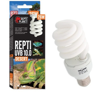Repti PLANET REPTI 10.0 26W UVB лампа для террариума доставка товаров из Польши и Allegro на русском