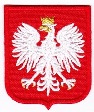 VAR Орел, ЭМБЛЕМА на униформе MON 66x55 доставка товаров из Польши и Allegro на русском