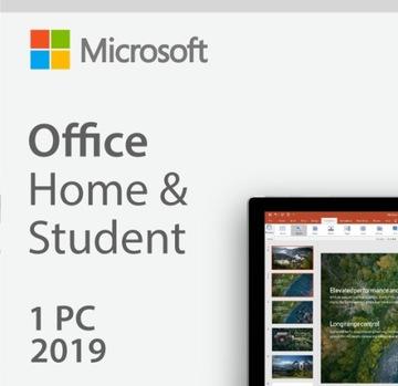 MS Office Home and Student 2019 доставка товаров из Польши и Allegro на русском