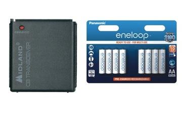 Лоток для батареек Алан 42 52 DS + ENELOOP 8шт. доставка товаров из Польши и Allegro на русском