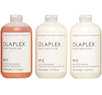 OLAPLEX Не.1 (22,5 мл)+ No.2 (45 мл) + No.3 10 мл доставка товаров из Польши и Allegro на русском