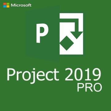 Microsoft Project 2019 Professional ключ PL доставка товаров из Польши и Allegro на русском