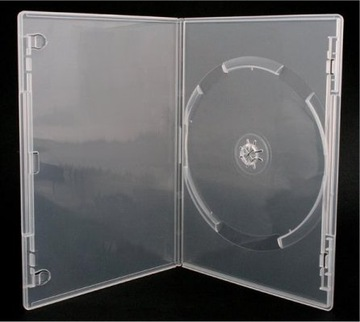 Коробки 1x SLIM DVD CD черный прозрачный 50 шт доставка товаров из Польши и Allegro на русском