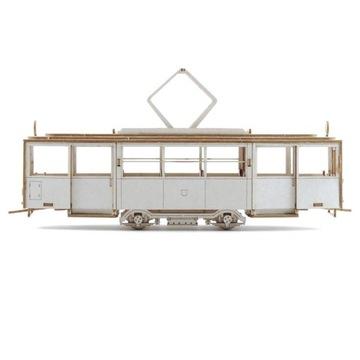 Модель из картона - Трамвай KONSTAL N масштаб 1:87 H0 доставка товаров из Польши и Allegro на русском