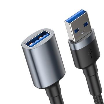 Baseus Кабель удлинительный кабель USB 3.0 AM-AF 1M доставка товаров из Польши и Allegro на русском