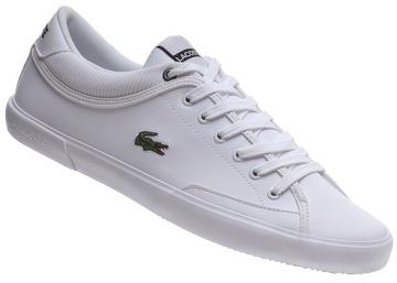 Мужская обувь Lacoste Angha белые, разные размеры доставка товаров из Польши и Allegro на русском