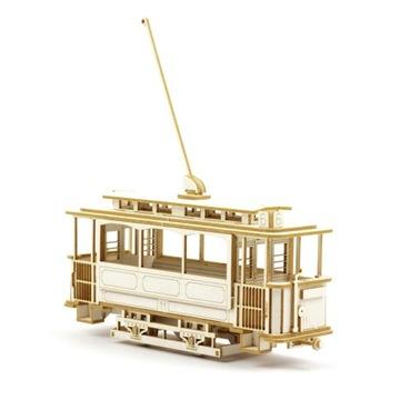 Модель из картона - Трамвай - ТИП 1 - в масштабе 1:87 H0 доставка товаров из Польши и Allegro на русском