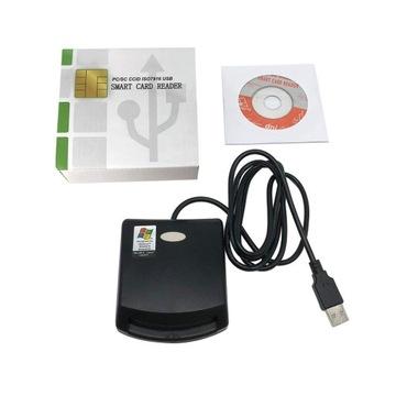 Кард-ридер чип USB SMART CARD доставка товаров из Польши и Allegro на русском