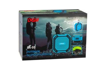 Мобильный динамик Bluetooth DGM BA-05 для активных доставка товаров из Польши и Allegro на русском