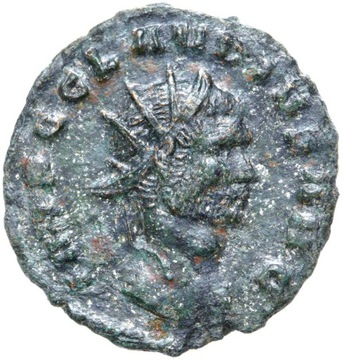 + Claudius II Gothicus - Antoninian - VIRTVS AVG доставка товаров из Польши и Allegro на русском
