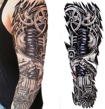 Tatuaż tymczasowy rękaw BIOMECHANIKA sprężyna tłok
