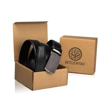 BETLEWSKI ремень кожаный мужской ремень для костюма доставка товаров из Польши и Allegro на русском