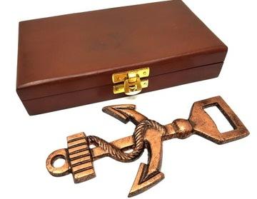 Металлический нож - якорь - в коробке доставка товаров из Польши и Allegro на русском