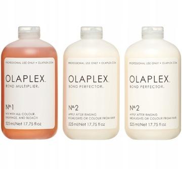 OLAPLEX Комплект No.1 (11,25 мл)+No.2 (22,5 мл) доставка товаров из Польши и Allegro на русском