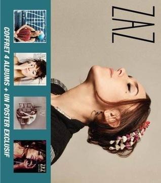 ЗАЗ COFFRET 4 ALBUMS + UN POSTER EXCLUSIF 6 CD BOX доставка товаров из Польши и Allegro на русском