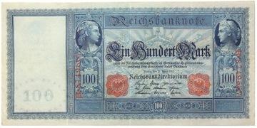 Германия - КУПЮРА - 100 Марок 1910 - Ro: 43а доставка товаров из Польши и Allegro на русском
