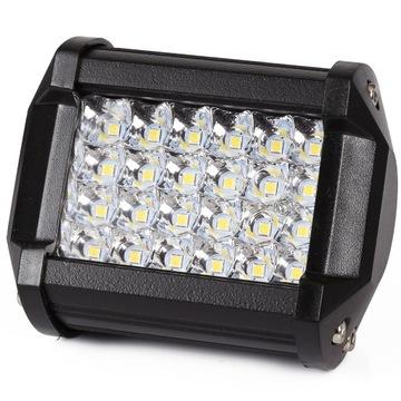 Светодиодная рабочая лампа 24 LED ГАЛОГЕННЫЕ ПРОЖЕКТОРА 72W МИНИ доставка товаров из Польши и Allegro на русском