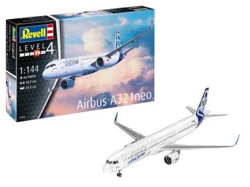 Airbus A321 neo Revell 04952 1:144 a321neo а 321 доставка товаров из Польши и Allegro на русском