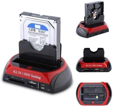 Док-станция SATA ATA IDE HDD SSD USB доставка товаров из Польши и Allegro на русском