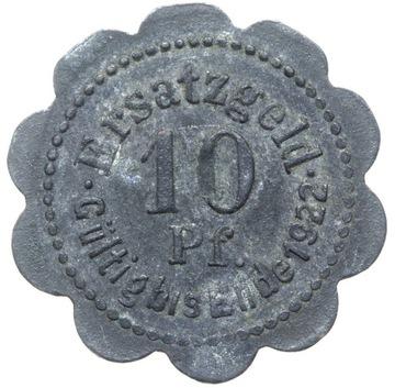 + Stettin - Щецин - NOTGELD - 10 Pfennig 1920 доставка товаров из Польши и Allegro на русском
