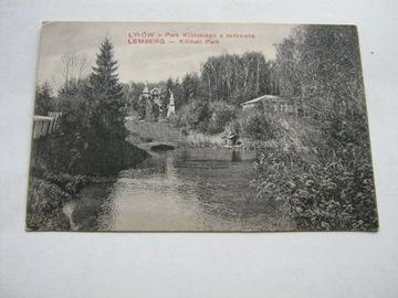 LWÓW Килинский парк с прудом Лемберг Д. ГРУНД  доставка товаров из Польши и Allegro на русском