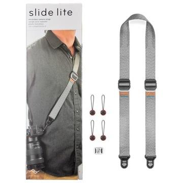 Ремень Peak Design SLIDE LITE ASH v3 пепельно-серый доставка товаров из Польши и Allegro на русском