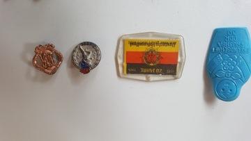 Niemieckie stare odznaki 70 lata PRL доставка товаров из Польши и Allegro на русском