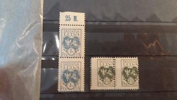 Центральная Литва Fi. 23 B четыре **, с двойной насечкой  доставка товаров из Польши и Allegro на русском