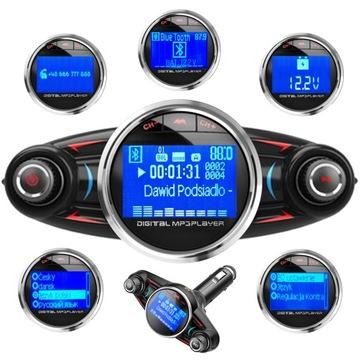 ПЕРЕДАТЧИК FM BLUETOOTH 4.0 USB многофункциональный 8-в-1 доставка товаров из Польши и Allegro на русском