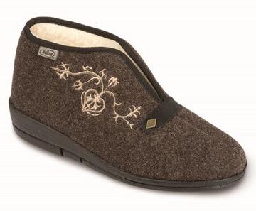 Обувь обувь тапочки papcie с меховой отделкой размер 39 доставка товаров из Польши и Allegro на русском