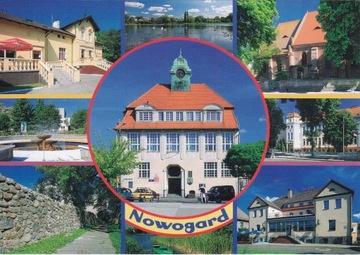 NOWOGARD - RATUSZ - HOTEL - MURY - KOŚCIÓŁ доставка товаров из Польши и Allegro на русском