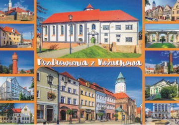 KOŻUCHÓW - KOŚCIÓŁ - BASZTA - WIEŻA - ZAMEK- RYNEK доставка товаров из Польши и Allegro на русском