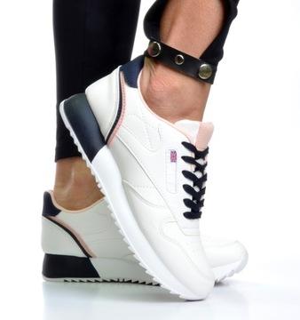 Женская обувь Кроссовки Sneakersy Бетти Удобные р. 39 доставка товаров из Польши и Allegro на русском