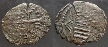 5961. Венгрия, АЛЬБРЕХТ (1437-1439) denar доставка товаров из Польши и Allegro на русском