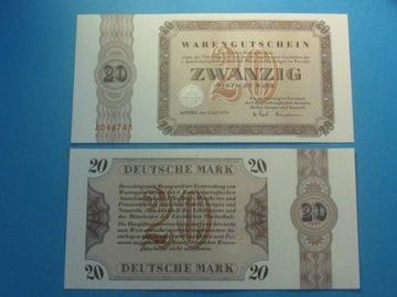 Германия Банкнота 20 Марка сыр. А !! 1973 ! UNC Бетел доставка товаров из Польши и Allegro на русском