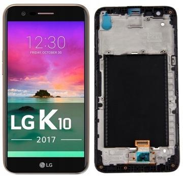 LG K10 2017 m250e m250n ЖК-экран сенсорный экран РАМКА доставка товаров из Польши и Allegro на русском