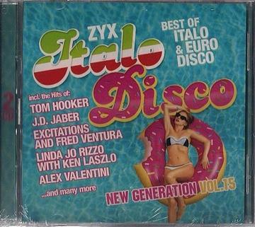 ZYX ITALO DISCO NEW GENERATION VOL.15 2CD ПЛЕНКА доставка товаров из Польши и Allegro на русском