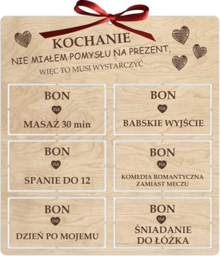 ОТКРЫТКА НА день святого ВАЛЕНТИНА подарок КУПОНЫ ЛЮБВИ доставка товаров из Польши и Allegro на русском